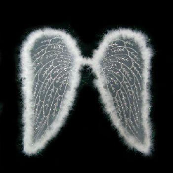 Крылья Ангела, белые , размер 54 х 54 см, артикул Н67599, фирма Шампания