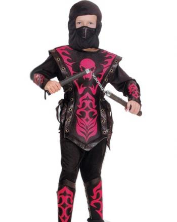роскошный карнавальный костюм Ниндзя, Ниндзя Красный Огонь, с отделкой из искусственной кожи. Детский карнавальный костюм для мальчика, костюм Ниндзя детский, костюм ниндзя Красный Огонь на 11-14 лет, рост 130-140 см, фирма Snowmen, артикул Е70821-3. Костюм ниндзя купить, куплю костюм ниндзя, костюмы ниндзя для мальчиков