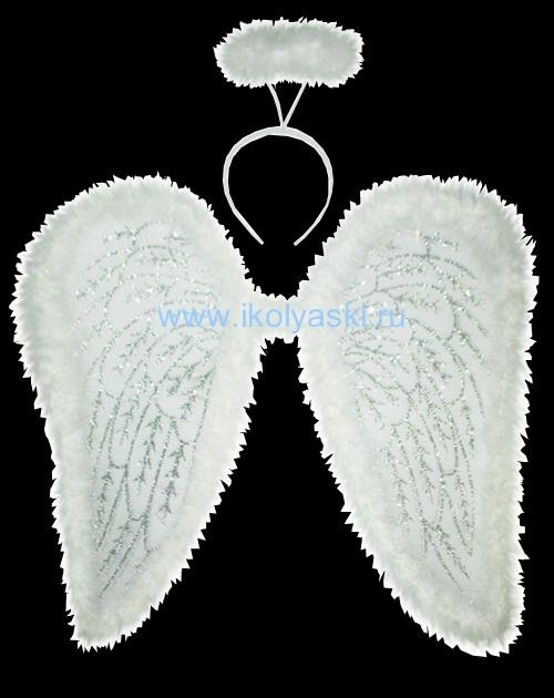 Детский карнавальный набор Ангела, Ангелочка, крылья ангела фирмы Snowmen артикул Е80047