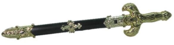 Меч в ножнах, Рыцарский меч в ножнах, игрушечное оружие