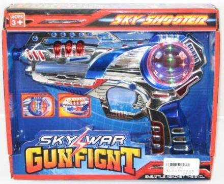 Лазерный бластер - пистолет Звездные войны, Космический Бластер - Звездные войны, Sky Wars, Star Wars, Пистолет на батарейках со светом и звуком