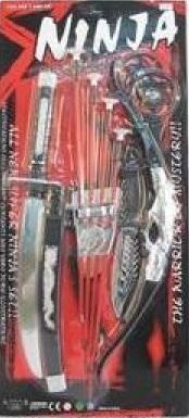 Набор игрушечного оружия Ниндзя, аксессуар к карнавальному костюму Ниндзя, артикул 0911S549, код 139614. , фирма Лапландия