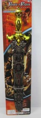 Меч Принца Персии, оружие Принца Персии, МЕЧ В НОЖНАХ, арт. 3706-6 на картонке, 63*14*3СМ, артикул B636512, код 145068