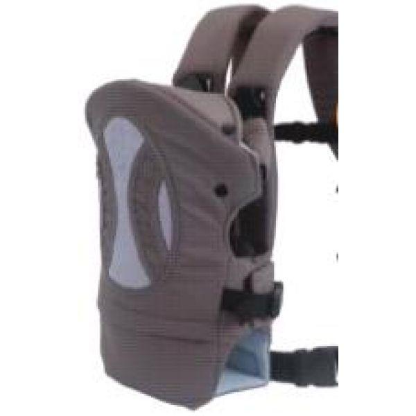 Кенгуру - сумка-рюкзак для переноски детей весом 3,5 - 12 кг, цвет серый.