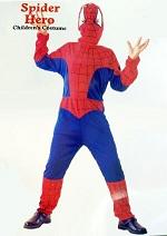 Детский карнавальный костюм Человека-паука, Спайдермена, на 4-6 лет, фирмы Laplandia  артикул  8534-S , код  34366. В комплекте комбинезон и шапка-маска с прорезями для глаз