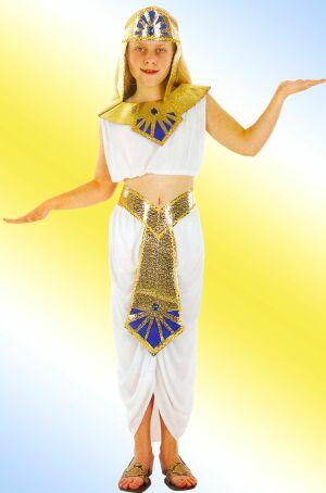 Детский карнавальный костюм,  Египетский костюм Клеопатры, артикул 88247-M, код 54961, фирма Лапландия, на 7-10 лет