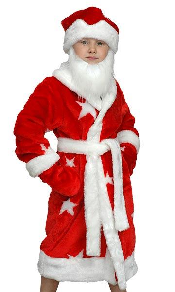 детский новогодний костюм Деда Мороза