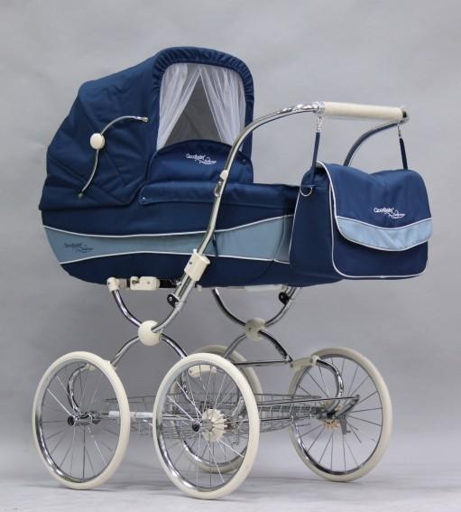 Детская коляска Geoby C605 Katarina, Геоби С605 Катарина 2 в 1 с...