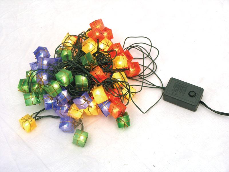 Новогодние электрогирлянды своими руками