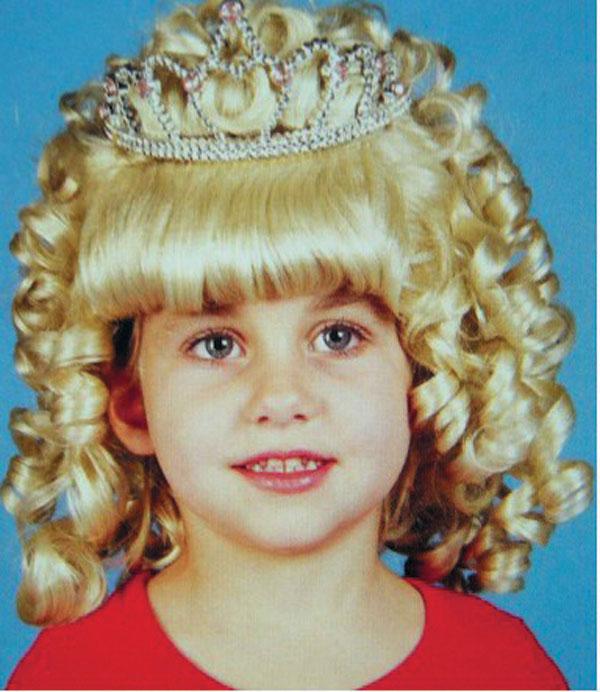 нажать, посмотреть Парик Принцессы, Парик Снегурочки , Снежной королевы  для девочек, артикул Н65210, фирма Шампания