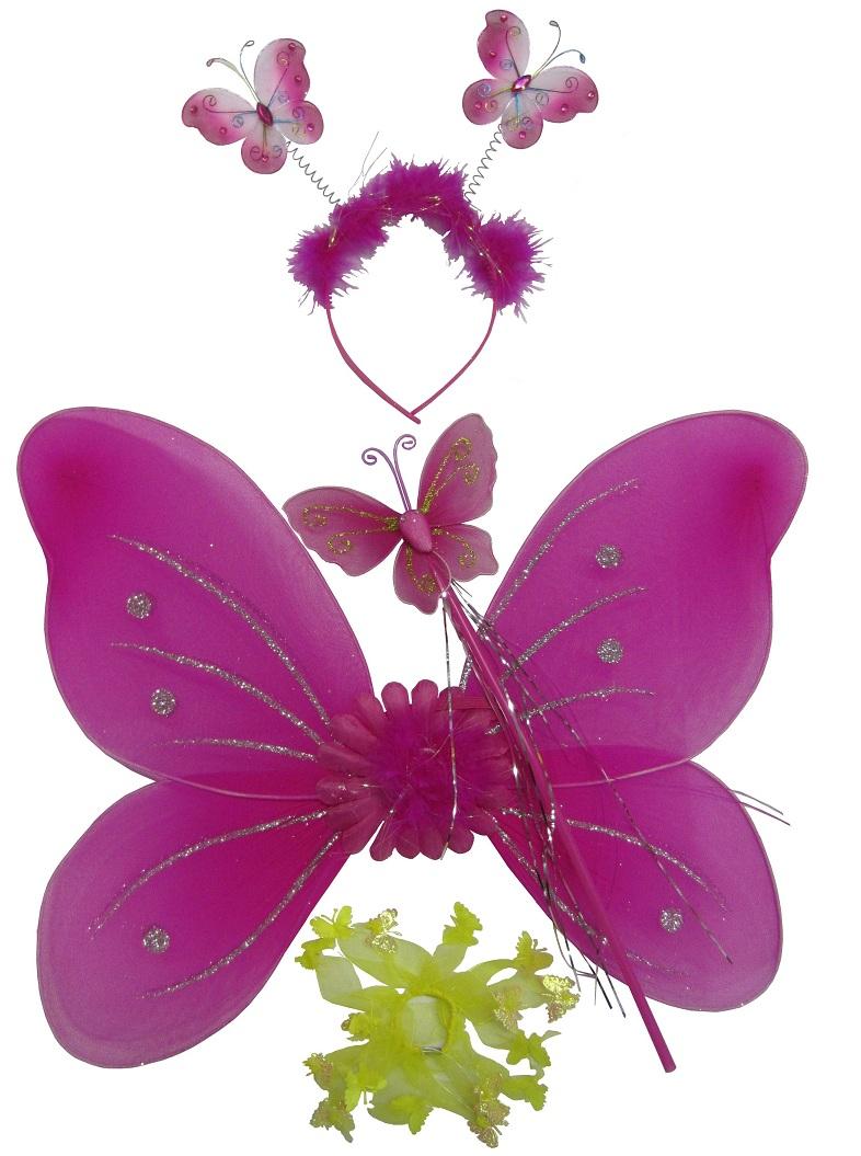 Усики бабочки своими руками