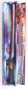Лазерный меч Джедая,  лазерный меч Звездные войны, игрушечный меч на батарейках со звуком и светом, в коробке, размер 70 х 18 х 5 см, артикул 0908S431, код 126014, фирма Лапландия