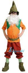 костюм гнома, костюм гнома детский, детский костюм гнома, купить костюм гнома, купить костюм гномика, костюм гнома новинка, костюм гнома фото, костюм гнома цена, костюм гнома из сказки белоснежка и семь гномов, гном весельчак костюм, белоснежка и 7 г