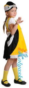 Детский карнавальный костюм Синички, костюм для девочки птички Синички плюшевый.