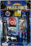 набор полицейского детский, набор аксессуаров полицейского с наручниками, набор полиция, купить набор игрушечного оружия, набор оружия полицейского, оружие полицейского, игровой набор полиция, игрушки полицейский набор, игрушечный полицейский набор
