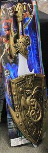Игрушечное оружие Щит и Меч с драконом Super Sword. Рыцарское оружие