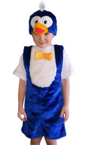Детский карнавальный костюм из искусственного меха Пингвин фирмы