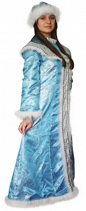 костюм Снегурочки для взрослых