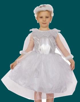 детский новогодний костюм снежинки для девочки