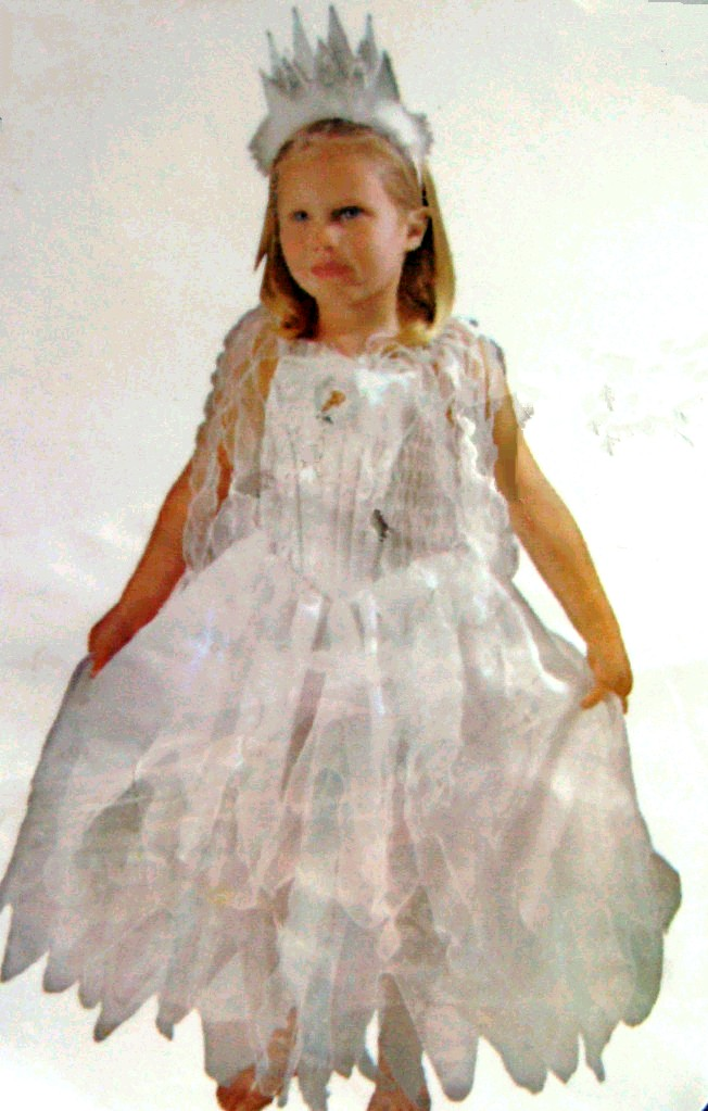 Детский карнавальный костюм Снежной королевы , костюм персонажа фильма Уолта Диснея