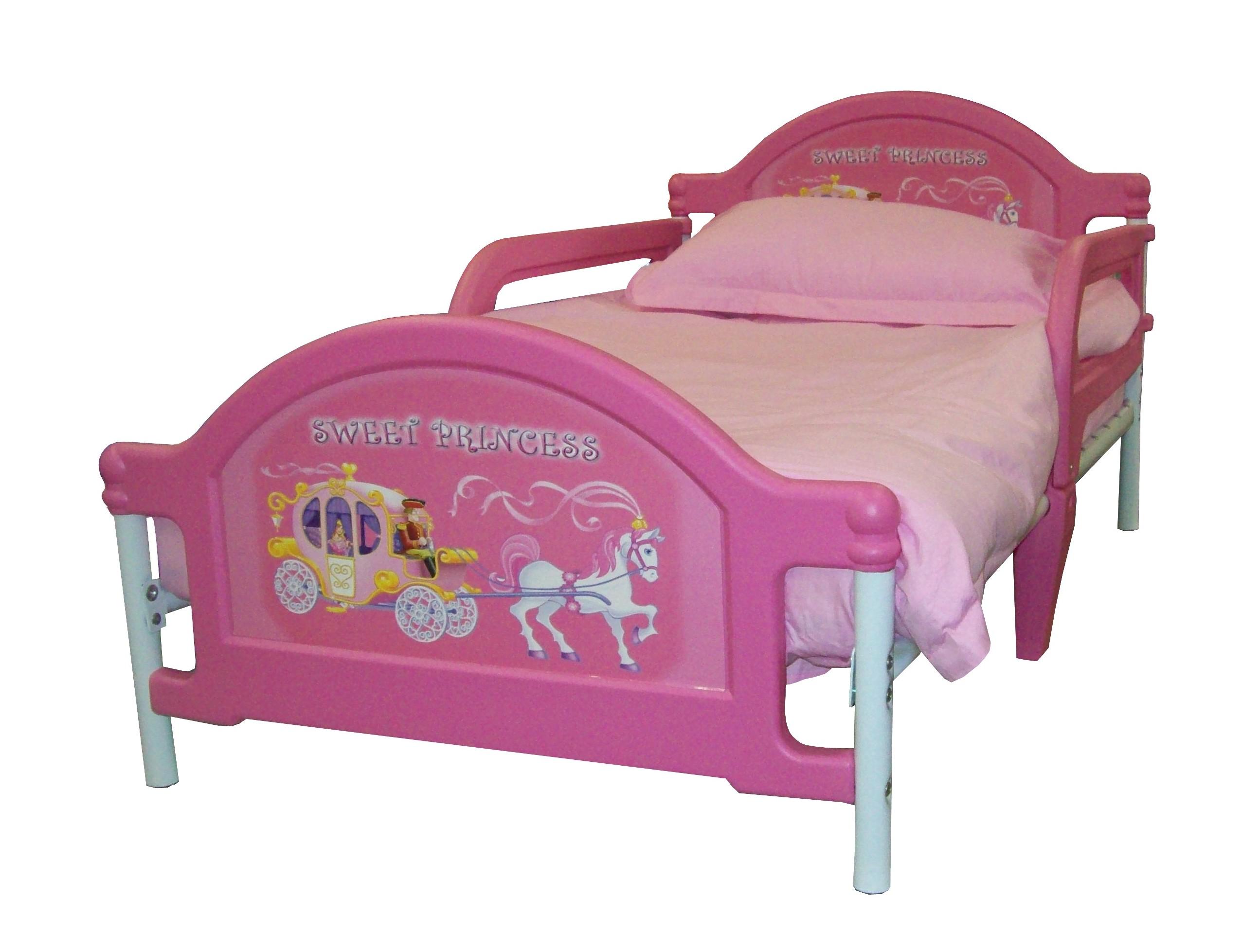Детская кровать Джуниор Sweet Princess - Кровать Принцесса, в комплекте с постелью, 135х75 см