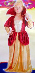 детский карнавальный костюм Королевы, карнавальный костюм придворной дамы, костюм фрейлины,  88906-M, S, 51278 фирмы Лапландия