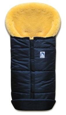 Зимний меховой конверт Heitmann Felle, немецкий детский зимний конверт, мех - овчина, меринос. Детский зимний конверт из натуральной овчины, шкуры ягненка. Детский зимний меховой конверт heitmann felle 975 MA, зимний конверт купить