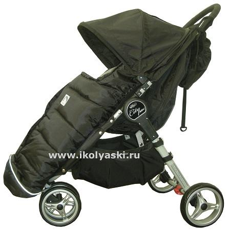 Детская трехколесная коляска элит класса Baby Jogger City Mini Single...