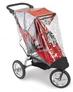аксессуар для детской коляски: дождевик на детскую трехколесную прогулочную коляску от американского производителя, на коляску  Baby Jogger City Elite Single - Бэйби Джоггер Сити Элит Сингл