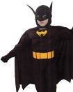 Лапландия,      Детский карнавальный костюм Бэтмена с мускулатурой, артикул 87130-S, код 11402, фирма Лапландия, на 4-6 лет