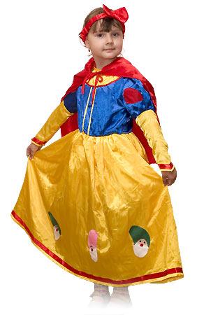 Детский карнавальный костюм Белоснежки  серии  Карнавалия фирмы