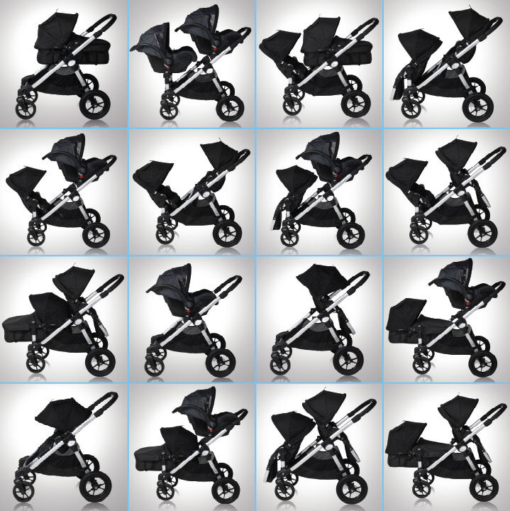 Baby Jogger City Select, Детская коляска Baby Jogger City Select Single Бэби Джоггер Сити Селект Сингл