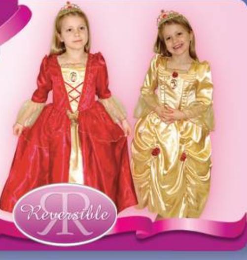 Детский карнавальный костюм принцессы Бэль, героини мультфильма
