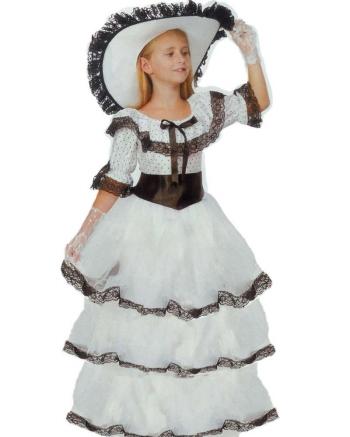 Детский карнавальный костюм Южной красавицы фирмы Snowmen артикул Е70823. Шляпа в комплекте.