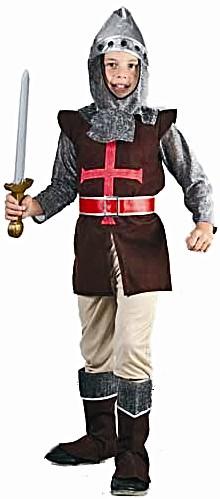 Детский карнавальный костюм рыцаря, артикул Е92147, фирма SNOWMEN, на возраст 7-10, 11-14 лет