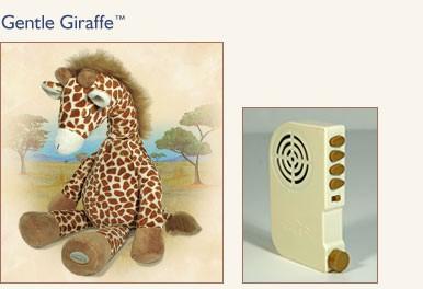 Новинка! NEW!  Только у нас! Gentle Giraffe™ «Нежный Жираф» - мягкая детская игрушка, помогающая малышам уснуть, с успокаивающими звуками.