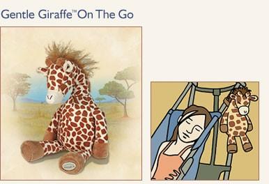 Новинка! NEW!  Только у нас! Мягкая детская игрушка Gentle Giraffe On The Go™