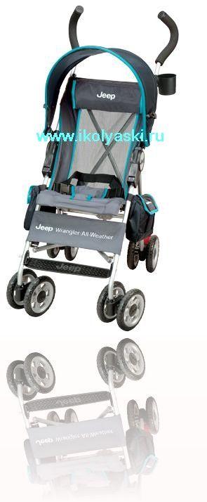 Легкая и удобная прогулочная коляска