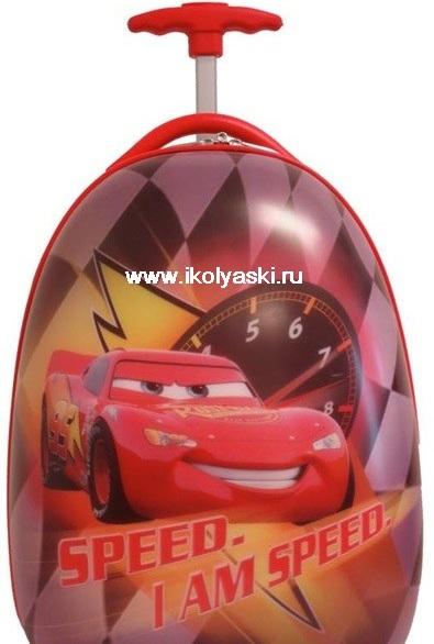 Детский чемодан Дисней, Cars, Тачки, цвет красный, артикул D234J , Heys...