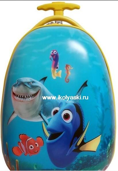 Детский чемодан Дисней, Nemo, Немо, цвет голубой, артикул D234D , ,Heys...