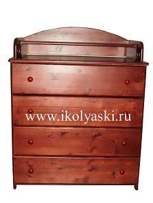 комод, детский пеленальный комод, комод с пеленальным столиком Тотоша, АЦДМ , Архангельск