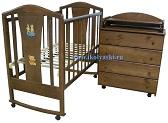 подбрать комод к кроватке, детская мебель, кроватки, комоды,  комплекты детской мебели, новый дизайн