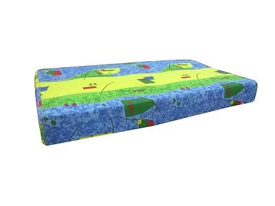 Матрас ортопедический, пружинный блок, матрас для детских кроватей Джуниор от 2-х до 6-ти лет, размер матраса 130х70х15 см