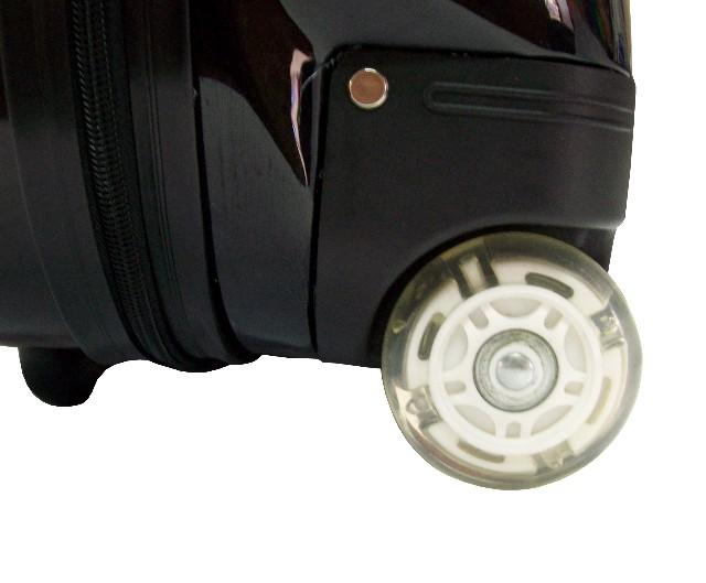 """Комплект: детский чемодан Эгги 18 """"(45,7 см) и рюкзак Эгги 13 """"(33см) Пингвины, детский чемодан на колесах, Набор для..."""