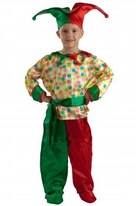 Детский карнавальный костюм Петрушки  серии Карнавалия фирмы