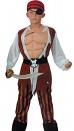 Костюм Пирата с мускулатурой,  на 4-6, 7-10, 11-14 лет, артикул Е70817, фирма Snowmen, Сноумен