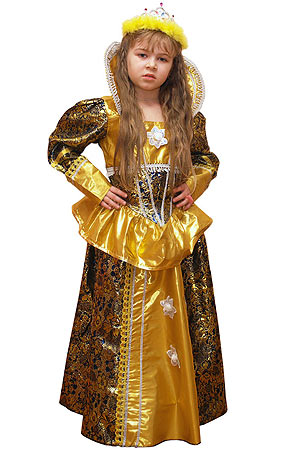 Детский карнавальный костюм Принцессы  на 5-8 лет, серии Карнавалия Премиум