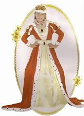 Детский карнавальный костюм Королевы артикул 87115 M, код 131987, фирма Лапландия, на 7-10 лет