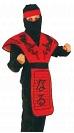 Детский карнавальный костюм Ниндзя Дракона красный, на 4-6, 7-10, 11-14 лет, фирмы Snowmen артикул Е3390