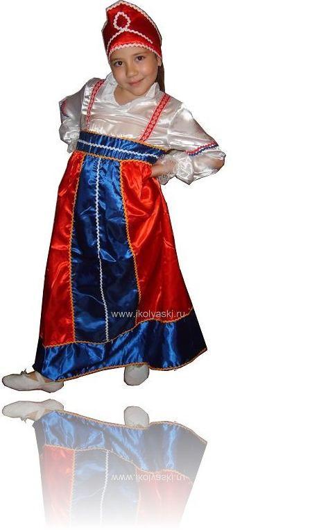 Детский карнавальный костюм красна